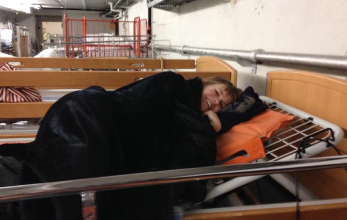 Sleep quality control in action© Karoline Hjorth & Riitta Ikonen
